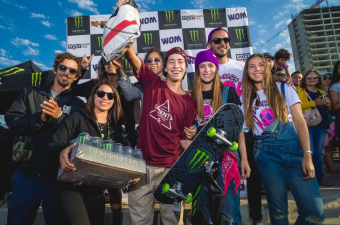 Coquimbo coronó a su campeón en la cuarta fecha del monster energy Rey de Reyes On Tour By Dc shoes Chile y womchile