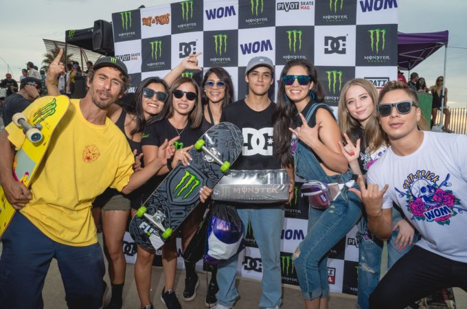 Antofagasta coronó a su campeón en tercera fecha del monster energy Rey de Reyes on tour By dc shoes Chile y womchile
